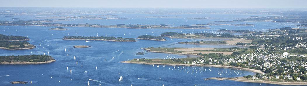 Le Golfe de Morbihan et ses îles…